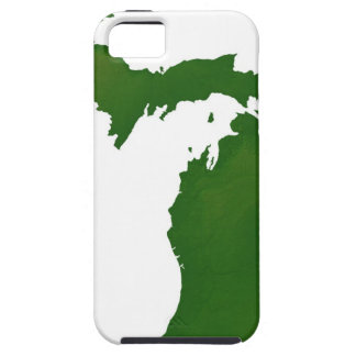 Mapa de Michigan iPhone 5 Protectores