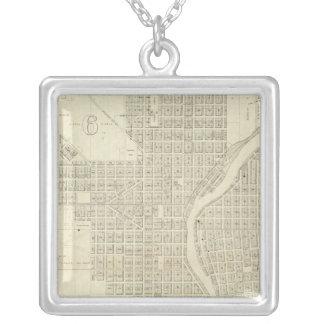 Mapa de Milwaukee Joyería
