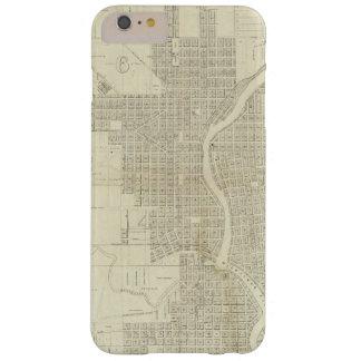 Mapa de Milwaukee Funda De iPhone 6 Plus Barely There