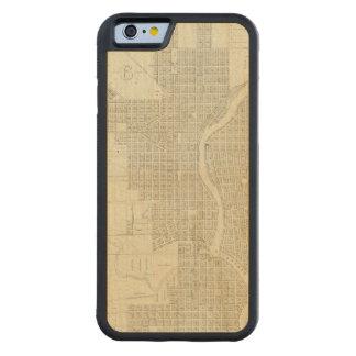 Mapa de Milwaukee Funda De iPhone 6 Bumper Arce