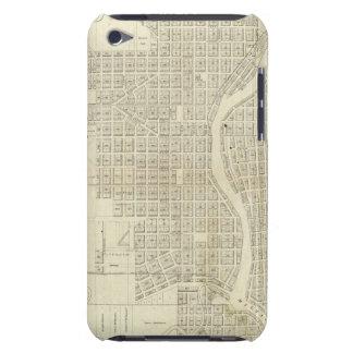 Mapa de Milwaukee iPod Case-Mate Carcasas