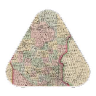 Mapa de Minnesota de Mitchell Altavoz