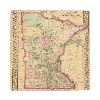 Mapa de Minnesota de Mitchell