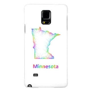 Mapa de Minnesota del arco iris