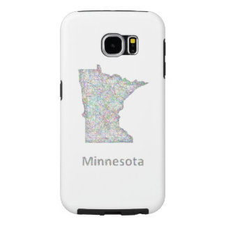 Mapa de Minnesota Fundas Samsung Galaxy S6