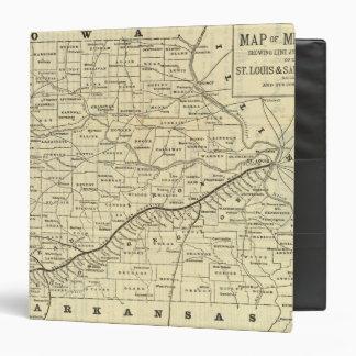"""Mapa de Missouri 2 Carpeta 1 1/2"""""""