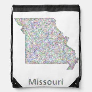 Mapa de Missouri Mochilas