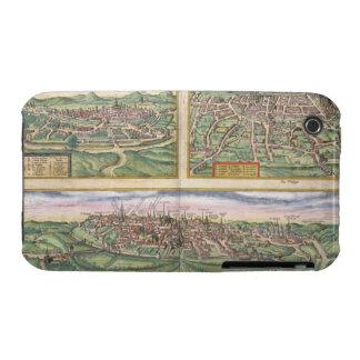 Mapa de Montpellier, viajes, y de Poitiers, de iPhone 3 Protectores
