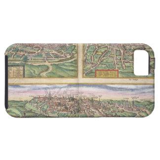 Mapa de Montpellier, viajes, y de Poitiers, de iPhone 5 Carcasa