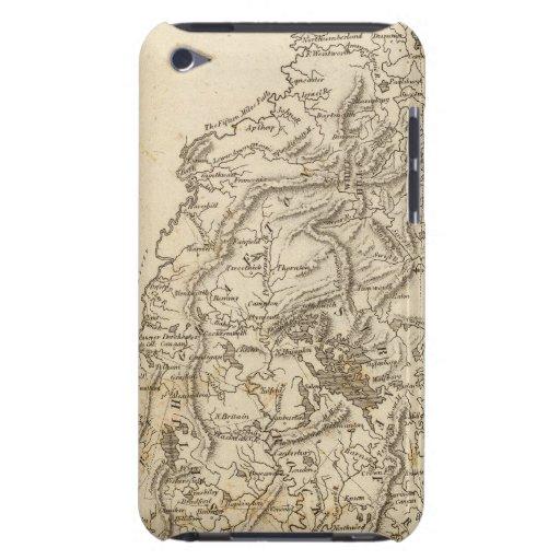Mapa de New Hampshire por Arrowsmith Barely There iPod Cárcasas