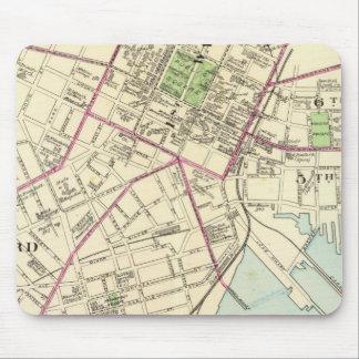Mapa de New Haven Tapete De Ratón