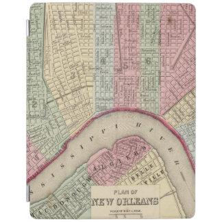 Mapa de New Orleans de Mitchell Cover De iPad
