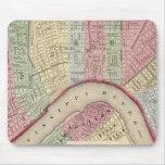 Mapa de New Orleans de Mitchell Tapetes De Raton