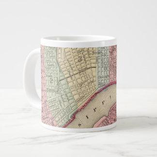 Mapa de New Orleans de Mitchell Taza Grande