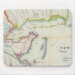 Mapa de New Orleans y del país adyacente Alfombrillas De Ratones
