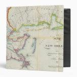 """Mapa de New Orleans y del país adyacente Carpeta 1 1/2"""""""
