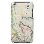 Mapa de New Orleans y del país adyacente iPod Touch Coberturas