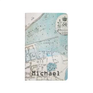 Mapa de New York City, 1728 Cuadernos Grapados