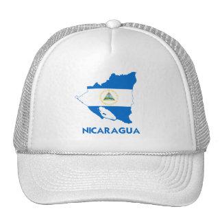 MAPA DE NICARAGUA GORRO DE CAMIONERO