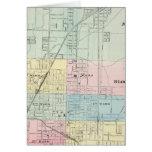 Mapa de normal, Bloomington Tarjeta De Felicitación