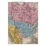 Mapa de Norteamérica 2 Tarjeta De Felicitación