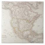 Mapa de Norteamérica 2 Teja