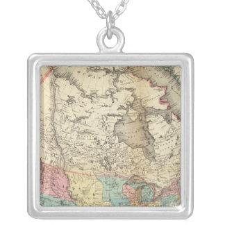 Mapa de Norteamérica 3 Colgantes