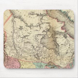 Mapa de Norteamérica 3 Tapetes De Ratones