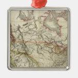Mapa de Norteamérica 4 Ornaments Para Arbol De Navidad