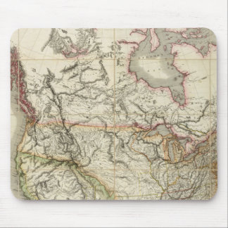Mapa de Norteamérica 4 Tapete De Ratón