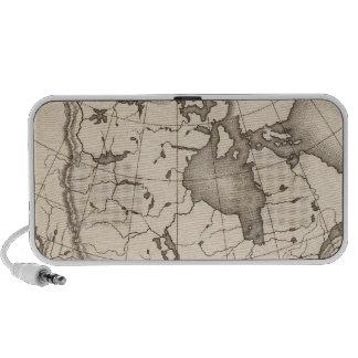 Mapa de Norteamérica Altavoz De Viajar