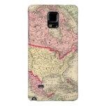 Mapa de Norteamérica Funda Galaxy Note 4