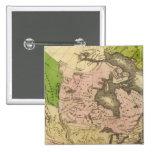 Mapa de Norteamérica Olney Pin Cuadrado