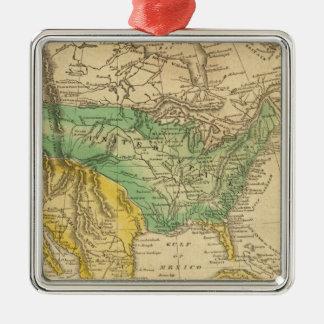 Mapa de Norteamérica por Worcester Ornamento Para Reyes Magos
