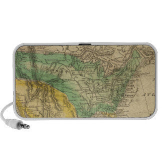 Mapa de Norteamérica por Worcester iPod Altavoz