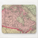 Mapa de Norteamérica Tapetes De Raton