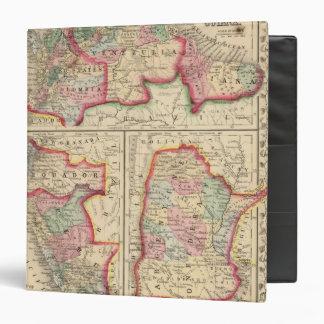 """Mapa de nueva Granada, Venezuela, Guayana de Mitch Carpeta 1 1/2"""""""