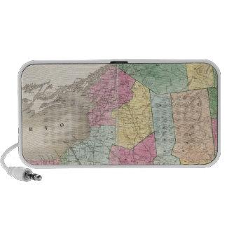Mapa de Nueva York Altavoces