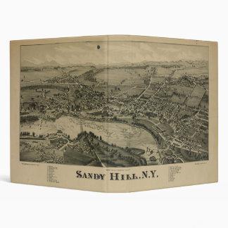 Mapa de Nueva York de la colina de Sandy de las