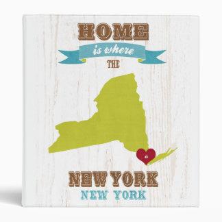 Mapa de Nueva York Nueva York - casero está donde