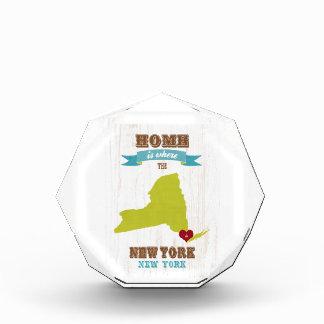 Mapa de Nueva York, Nueva York - casero está donde