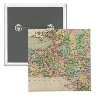 Mapa de Nueva York Pins