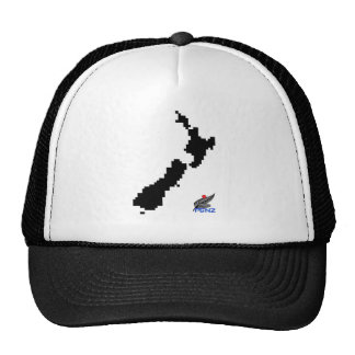 Mapa de Nueva Zelanda del pixel de PGNZ Gorra