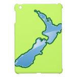 MAPA de Nueva Zelanda iPad Mini Funda