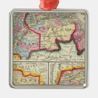 Mapa de nuevas Granada, Venezuela, y Guayana Ornamento De Reyes Magos