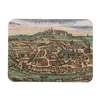 Mapa de Nuremberg, de Ulm, y de Saltzburg, de 'Civ Imanes Rectangulares