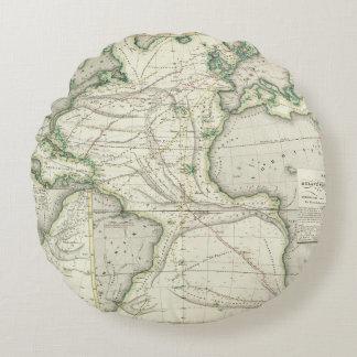 Mapa de Océano Atlántico