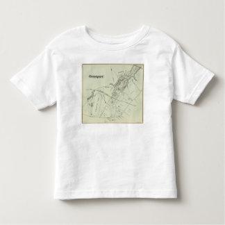Mapa de Oceanport, NJ Playeras