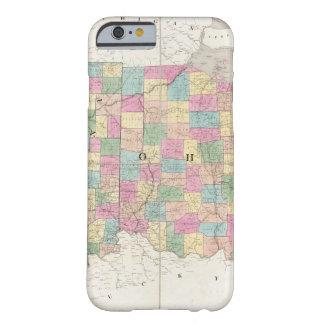 Mapa de Ohio y de Indiana Funda Para iPhone 6 Barely There