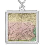 Mapa de Olney de los estados del centro Collares Personalizados